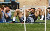 گزارش تمرین استقلال |بازگشت ۲ غایب دربی در روز توصیههای مجیدی به بازیکنان