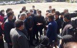 افتتاح سالن چندمنظوره قیانوری با حضور وزیر ورزش