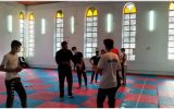 تمرینات منظم تکواندوکاران اهری | تبریزسیاست